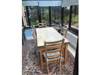 Habitat Table & 6 Chairs
