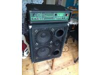 Trace Elliot 200w Series 6 Amplifier and 2x12 Cab