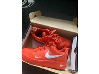 Nike Air Force 1 Utility Team orange size U.K 7