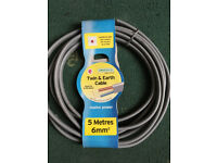2m length cooker cable leftovers