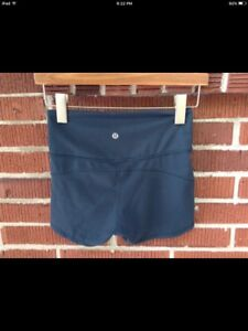 Lululemon In Movement Shorts, Size 6, blue....make us an offer