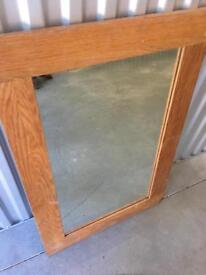 Lovely Vintage Style Wooden Frame Mirror
