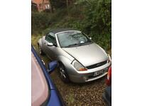 03 reg ford ka convertible