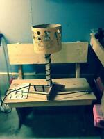 Shop Lamp ....one of a kind