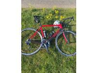 Genesis zero carbon road bike large shimano ultegra di2