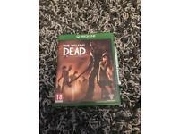 Xbox one game (The Walking Dead season one) Telltale game