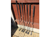 Ladies Golf Clubs (short set) plus bag, trolley and other items