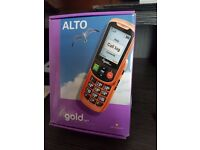 Alto Gold Easy Use Mobile Phone