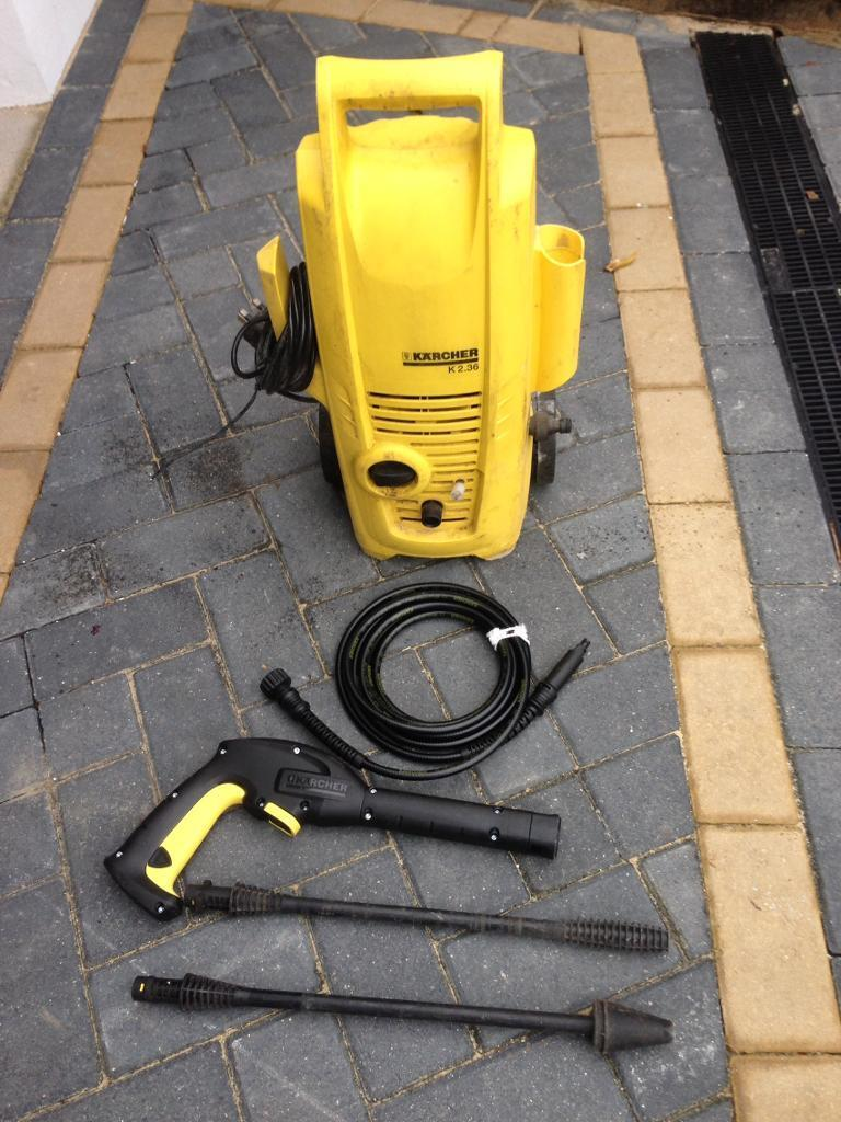 Karcher jet washer cost £110 new very good condition
