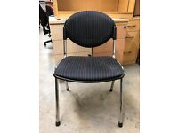 Reception/Visitor Chair, No Arms. 4 In Stock.
