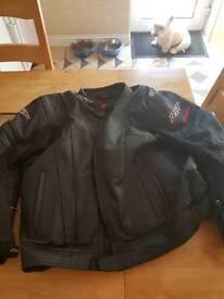 Leather RST sports jacket size 60 (european)