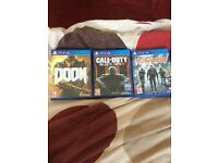 Ps4 games! Can deliver