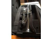 Armstrong Bb trumpet – Silver plated – New condition