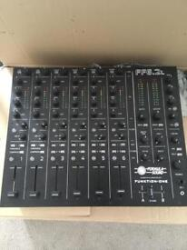 Formula sound funktion one ff6.2 mixer
