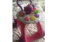 Baby fisher price tea trolley walker