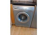 BARGAIN Silver Washing machine