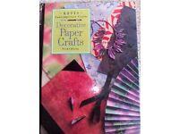 Paper craft book