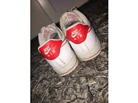 RED&WHITE NIKE AIRFORCE 1