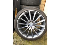 Front 19inch alloy wheel