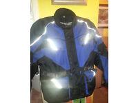 motorcycle textile jacket xl