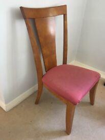 Dining chairs - Mahogany wood