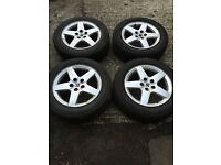 Peugeot Alloy Wheels and tyres