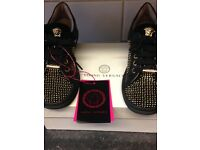 Young Versace trainers
