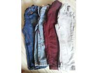 Girls trousers leggings jeans Next 12-18 months bundle