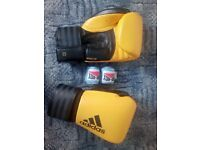 Boxing Gloves Adidas Hybrid 200 + hands wrap ¡¡BRAND NEW!