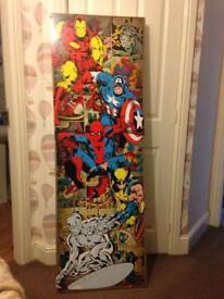 Marvel Wall hanging
