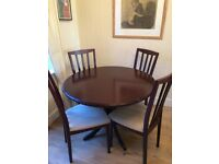 Morris Extendable Dining Table and Chairs