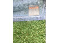 2 x Lafuma RSXA recliners loungers £20 each lightweight in ocean blue batyline material