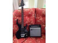 Swift lead guitar and 15 watt amplifier