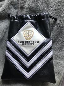 Cameron House golf valuables pouch