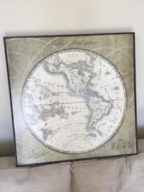 Large world box picture