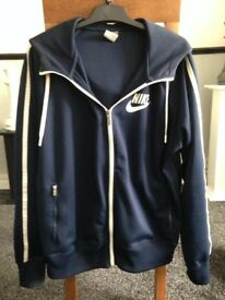 Mens Navy Nike Jacket Size Large