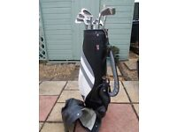 Set of Irons with bag