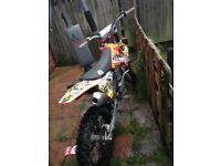KTM250sxf 2006 4stroke big wheel factory race very fast