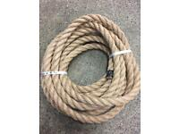 24mm synthetic decking rope x 8.5 metres, brand new, decking garden projects, handrail barrier rope
