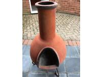 Large chiminea garden fire