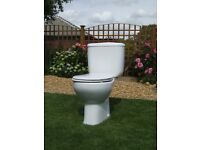 Roca Toilet And Cistern Plus Pedestal, in good clean condition