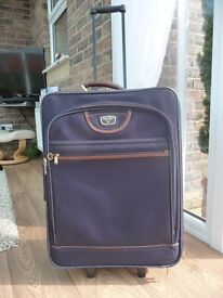 Antler medium size Trolley suit case with pull up and down handle good condition.