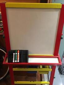 Dry wipe board & chalk board