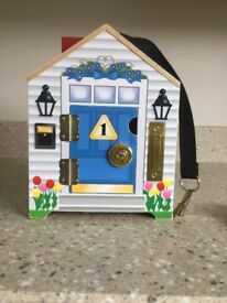 Melissa and Doug dolls house toy