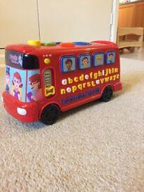 V Tech Alphabet bus with phonics