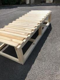 CamperVan bed/bench (pulls in & out of its self)
