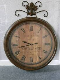Large metal clock antique these are no longer for sale online
