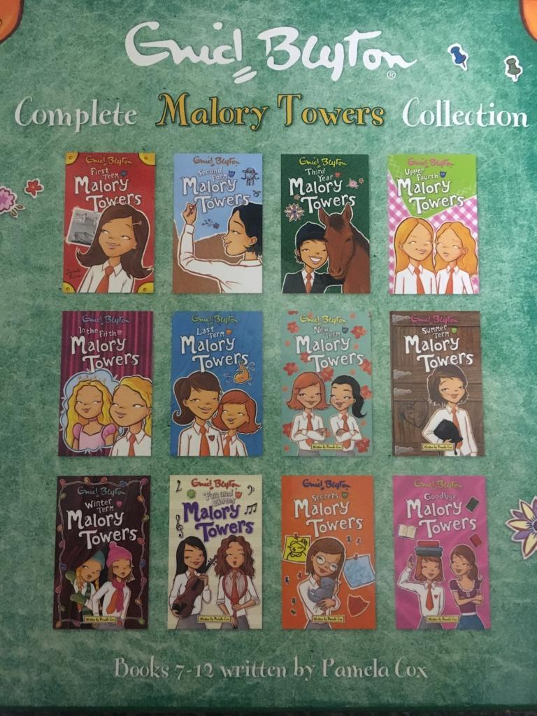 Enid Blyton Complete Malory Towers Collection, nearly new