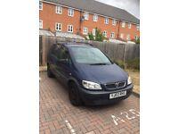 "Vauxhall Zafira 2003 Cheap sale "" SPARE OR REPAIR"""