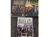 3 x dallas dvds